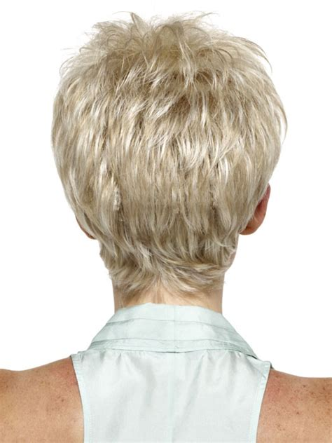 hairstyles for 60 front and back view back view of shag haircut women over 60 short hairstyle 2013