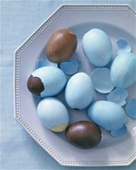 Handmade Chocolate Easter Eggs - get into the season with easter decorations decoholic