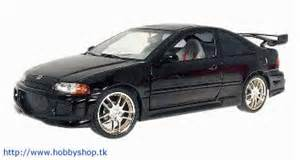 hobbyshop 1995 honda civic black fast furious