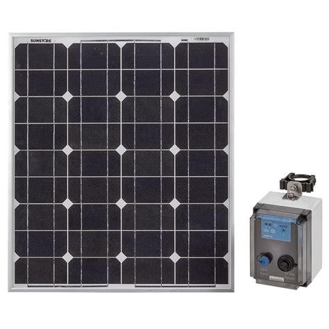 solar power options scarecrow solar power option kit