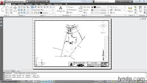 layout en autocad rotating viewport content to match layout