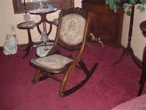 fold up rocking chair for sale antiques