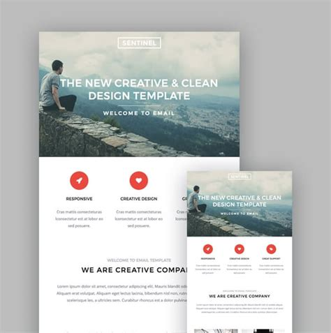 Great Email Newsletter Design We Love Getting In Our Inboxes January 2018 Im Creator Email Marketing Templates 2018