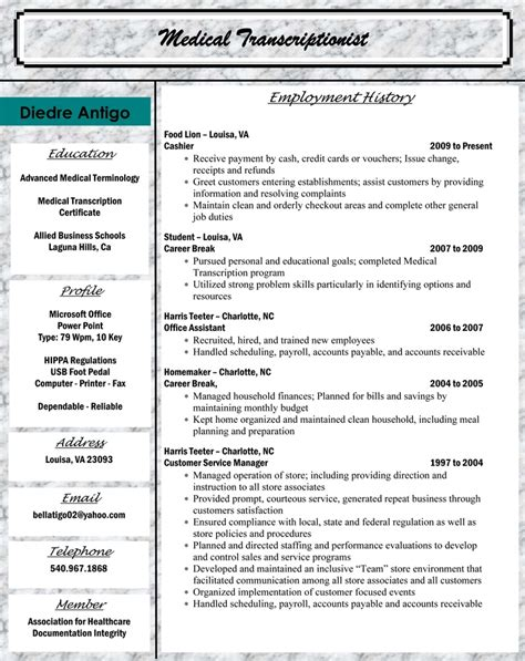 classy medical billing resume 6 medical billing sample resume