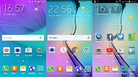 R Samsung Widget Install Samsung Galaxy S6 Weather Widgets On Any Android Smartphone