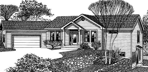 Angled Garage House Plans by Master Bedroom On Main Floor First Floor Downstairs Easy