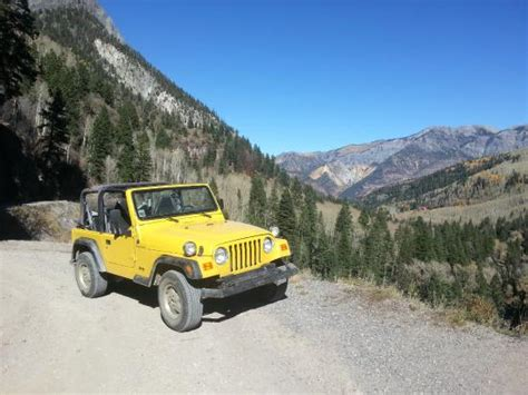 Ouray Jeep Tours Yankee Boy Basin Picture Of San Juan Scenic Jeep Tours