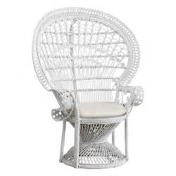 peacock chair peacock chair white the family tree