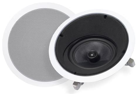 In Ceiling Angled Speakers by Ridley Acoustics America Kvca824 In Ceiling Angled Speakers