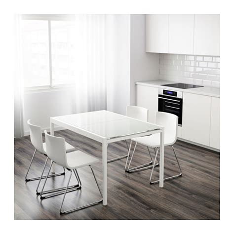 glivarp extendable table white 125 188x85 cm ikea
