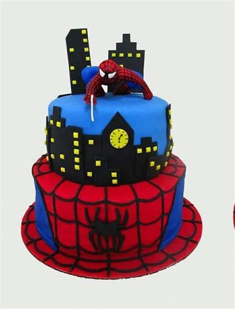 imagenes cumpleaños hombre araña 1000 ideas sobre pasteles del hombre ara 241 a en pinterest