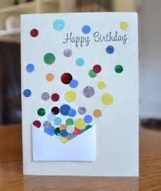 Simple Handmade Card Ideas - 35 beautiful handmade birthday card ideas