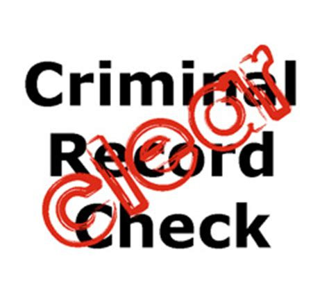 Dps Criminal Record Check Should I Ask For A Criminal Record Check 4 Tips For Employers