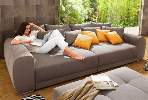 how big is a sofa big sofa kaufen baur