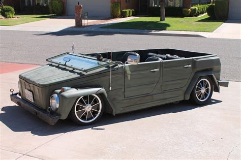 vw thing slammed thesamba com view topic slammed thing 181 suspension