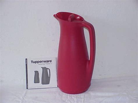 Tupperware Bestellen Auf Rechnung by Neu Tupperware Thermotup 1 L Pitcher Isolierkanne Rot