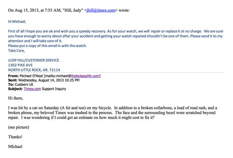 customer support email template 7 times excellent customer service was delivered email