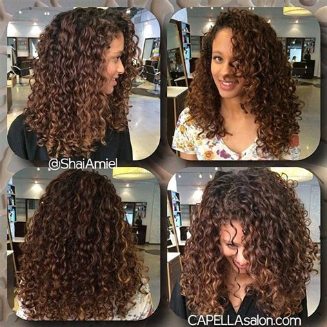 naturally thick black curly hair styles with bayalage color balayage kinky hair