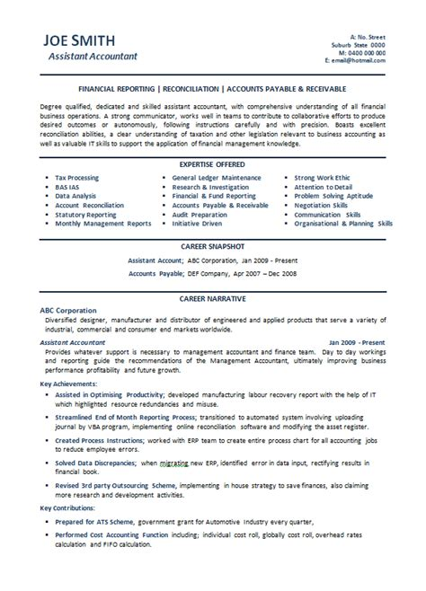 Resume Format Sles Australia Accounting Sle Resumes Australia Power Resume Writing Services