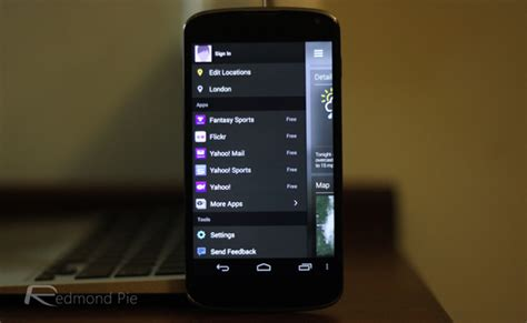 Its Finally Here The Iphone 3g by New Yahoo Weather App For Android Is Finally Here Comes