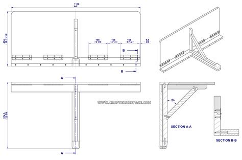 diy fold down table plans download diy drop leaf table plans plans free