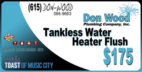 Don Wood Plumbing by Water Heater Installation Don Wood Plumbing
