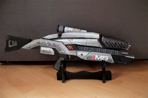 Mass Effect Papercraft - mass effect m8 avenger rifle paper model by
