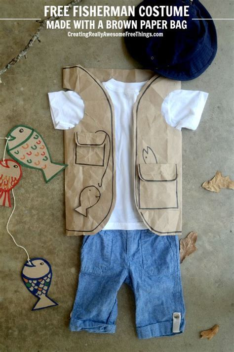 How To Make A Paper Bag Vest - 25 best ideas about fisherman costume on
