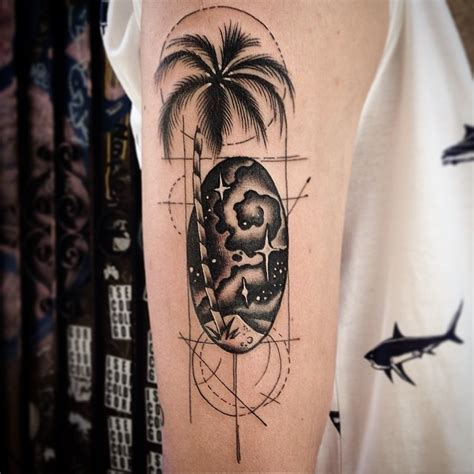 coconut tree tattoo designs 50 superb palm tree designs and meaning