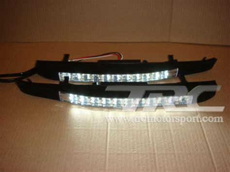 Lu Led Motor Sport drl led day light ตรงร น สำหร บรถ fortuner 2012