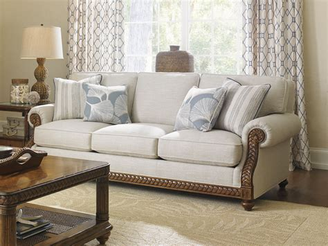 tommy bahama living room furniture tommy bahama home living room shoreline sofa 7844 33