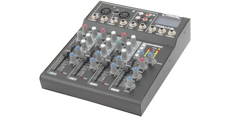 Profesional Mixing Console Crimson 4ch Usb Peat Wholesale Pa Equipment Audio Equipment Live