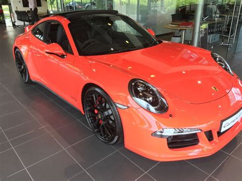 lava orange porsche porsche 911 991 gts lava orange porsche neil s car