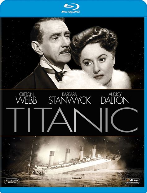 titanic film views blu ray release titanic 1953 one movie our views