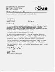 medicare certification letter health care renewal