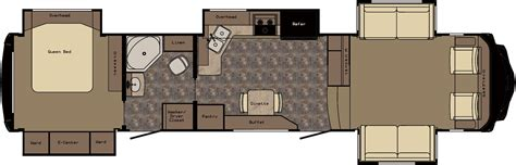front living room fifth wheel floor plans myideasbedroom