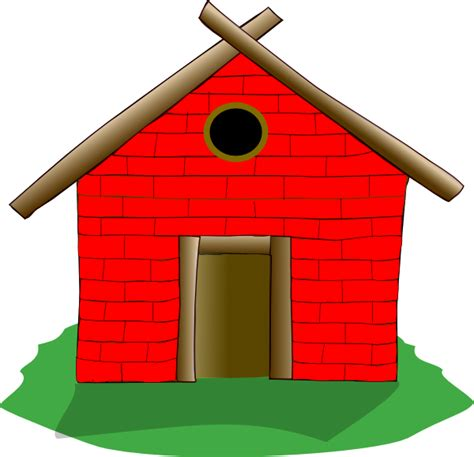 house of bricks brick house clip art at clker com vector clip art online royalty free public domain