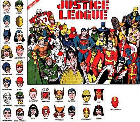 imagenes de la liga dela justicia comics 191 quien es quien dc comics justice league international