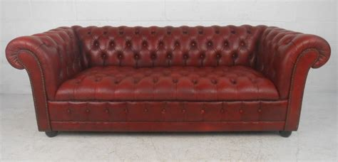Chesterfield Leather Sofa By Pendragon At 1stdibs