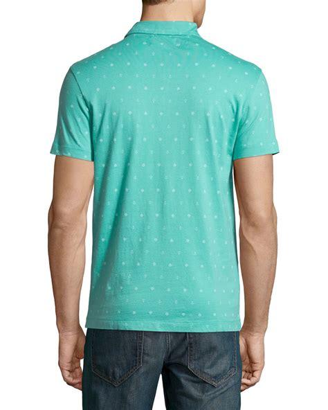 Original Izzue Sleeve Shirt Kemeja Blue 9vucid lyst original penguin sailor print jersey polo shirt in blue for