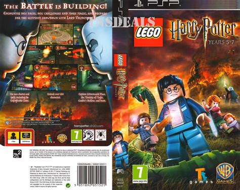 theme psp harry potter lego harry potter years 5 to 7 psp