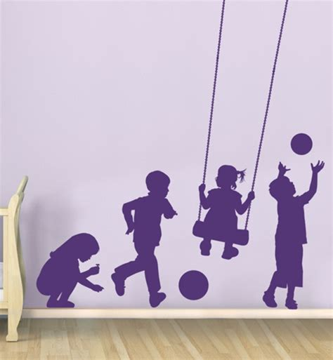 Kids At Play wall decal sticker