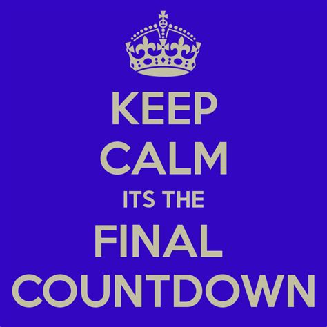 Its The Countdown by The Countdown Myreside Motoring Company