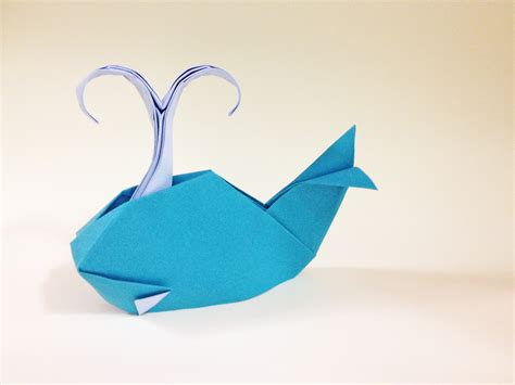 Origami Whales - dong origami