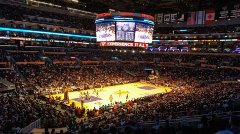 section 12 photography staples center section pr9 row 12 seat 1 los angeles