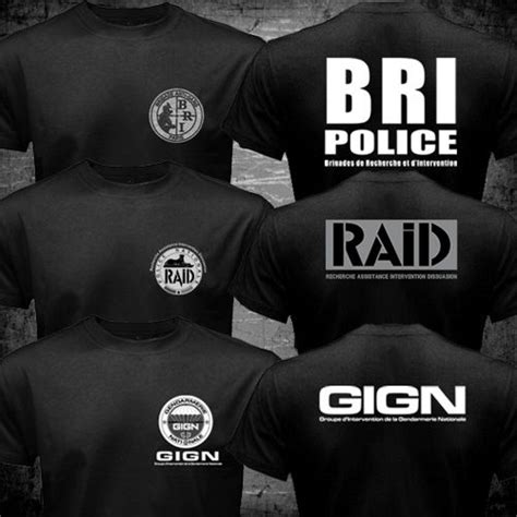 Tshirt The Raid Ruber Merch new special elite forces unit gign