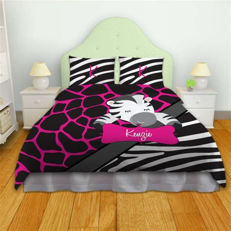 pink zebra print bedding giraffe pink print bedding with black and white zebra