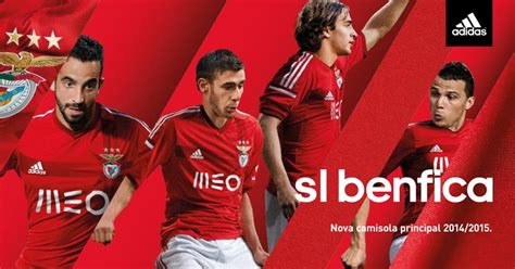 Portugal Away Pi benfica 14 15 home and away kits released footy headlines