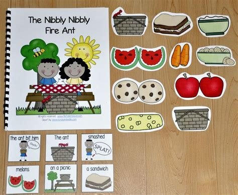 themes in the book matched 35 best images about picnic theme in the classroom on