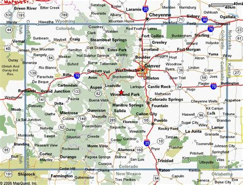 detailed map of colorado usa map of colorado maps of maps and colorado